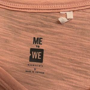 Pink criss cross tshirt